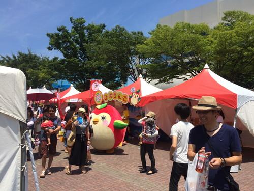 TNC夏祭り_ひばりんご2